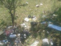 Bozüyük Bozalan köyünde Piknik Alanını Çöplüğe Çevirdiler