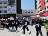İstanbul'da Şehit Olan Polisler İçin Tören DÜZENLENDİ