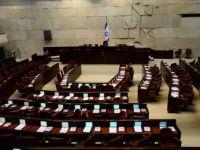 İsrail parlamentosu karıştı