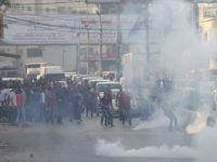 İsrail'den Filistinli Göstericilere saldırı : 3 Yaralı