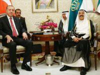Erdoğan İle Kuveyt Emiri Sabah Bir Araya Geldi