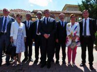 CHP'liler Filistin Ankara Büyükelçisi Mustafa İle Görüştü