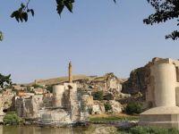 Hasankeyf'teki Kültürel Miras yapıları Bir Bir Taşınıyor