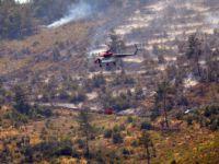 Ege'de Şiddetli Rüzgar Yangının Kontrol Altına Alınmasını Engelliyor