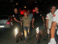 Bodrum'da Çatıya Çıkan Rus Turisti Polisler Kurtardı