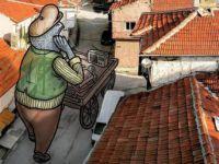 Hakan Keleş Eskişehir Sokaklarını 'Lilliput'larla Tanıtıyor