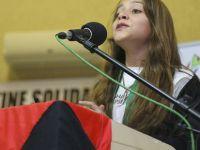 En Küçük Gazeteci Cihad: Filistin'den Asla Vazgeçmeyeceğiz