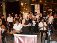 Frankfurt'ta gurbetçilerden konser