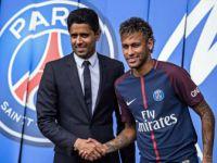 Paris Saint-germain,Brezilyalı futbolcu Neymar'ı Basına Tanıttı