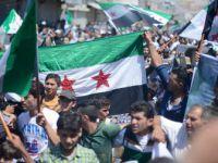 Halep'in Kuzeyinde Terör Örgütü PKK/PYD Karşıtı Gösteriler Düzenlendi