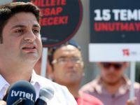 15 Temmuz Derneğinden CHP'li Akaydın'a Suç duyurusu