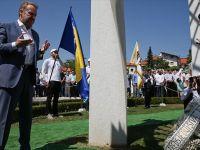 Bosna Hersek'in ilk cumhurbaşkanı Aliya İzetbegoviç Mezarı Başında Anıldı