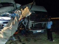 Mardin, Nusaybin'de Trafik Kazası: 1 Ölü, 1 Yaralı