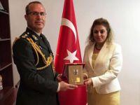 Yeni Askeri Ateşe'den Üsküp Büyükelçimiz Tülin Erkal Kara'ya ziyaret