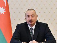 Aliyev'den Dünya Şampiyonu Guliyev'e Tebrik