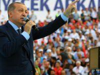 Erdoğan Gabriel'e tepki göstererek sert sözlerle yüklendi