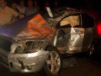 Giresun'da Yolcu Otobüsü ile Cip Çarpıştı: 1 Ölü (Günay Melikoğlu)