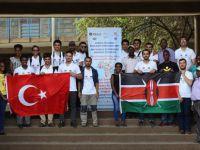 Tika'nın Gönüllülüleri Kenya'da Kütüphane Kuracak