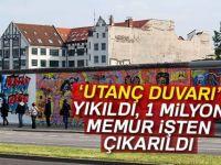 'Utanç duvarı' yıkıldı 1 milyon memurun işine son verildi