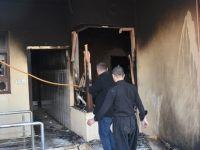 Süleymaniye'deki Gösterilerde Parti Merkezleri Ateşe Verildi