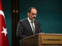 Cumhurbaşkanlığı Sözcüsü Kalın'dan BAE Dışişleri Bakanına Tepki