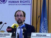BM İnsan Hakları Yüksek Komiseri Hüseyin, İsrail'i Kınamadı