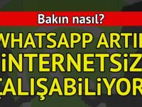 İnternetsiz WhatsApp kullanmak pek kolay! İşte internetsiz WhatsApp yöntemi