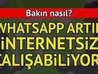 İnternetsiz WhatsApp nasıl kullanılır? İŞTE İnternetsiz WhatsApp AYARI