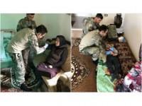 Ypg/pkk'nın Elinden Kurtarılan Siviller Sağlık Taramasından Geçirildi