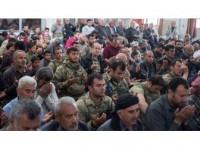 Afrinliler Mehmetçik İle Cuma Namazı Kıldı