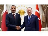 Cumhurbaşkanı Erdoğan, Katar Emiri Al Sani İle Görüştü