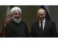 Putin İle Ruhani Suriye'yi Görüştü