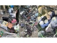 Tunceli'de Terör Örgütü Pkk'ya Ait 9 Sığınak İmha Edildi
