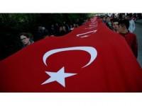Türkiye 57. Alay'a Vefa İçin Yürüdü