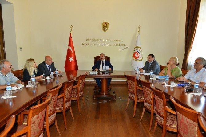 Antalya Kazı Başkanları'ndan Karaloğlu'na Ziyaret