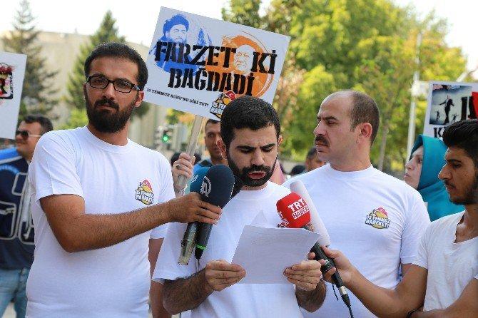 Ankara ABD Büyükelçiliği Önünde 'Joe Biden' Protestosu