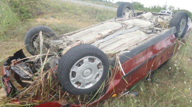 Sinop, Erfelek'te Trafik Kazası: 2 Yaralı