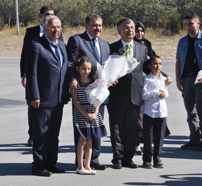 Orman Ve Su İşleri Bakanı Eroğlu İle Milli Eğitim Bakanı Yılmaz Sivas'ta
