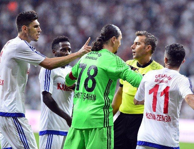 Spor Toto Süper Lig 3. Haftasından Beşiktaş, Karabükspor'u 3-1 Mağlup Etti