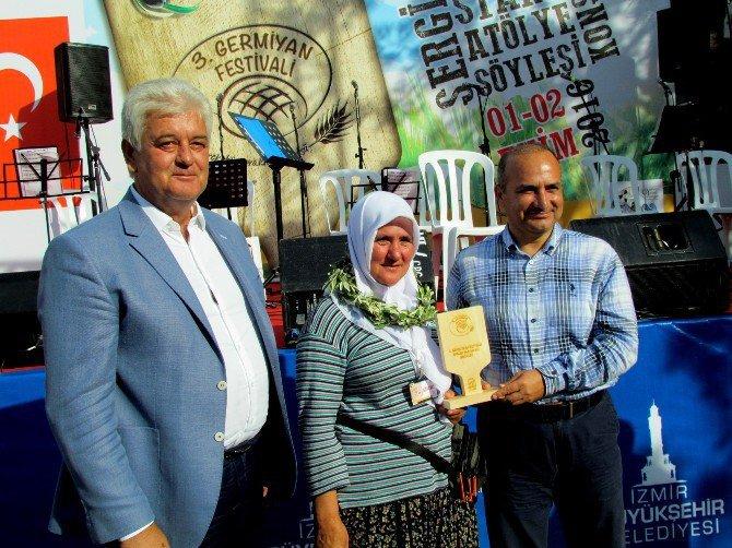 3. Germiyan Festivali'nde Ekmek Yarışı Heyecanı