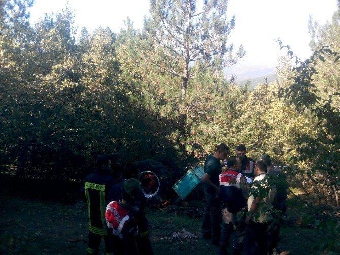 Kastamonu'da Traktör Devrildi: 4 Ölü, 2 Yaralı