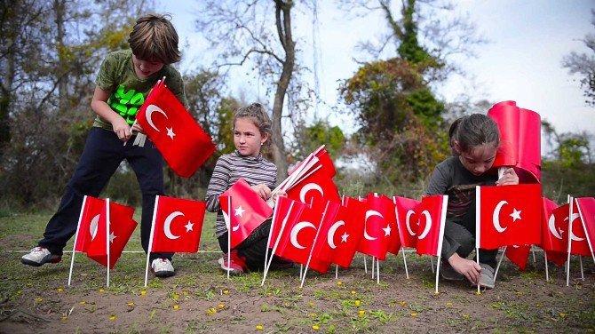 Bursa, Karacabey Longoz Ormanında Atatürk Silueti