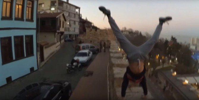 Bursalı Çılgın Liseli,Emir Korkmaz Ölüme Böyle Meydan Okuyor