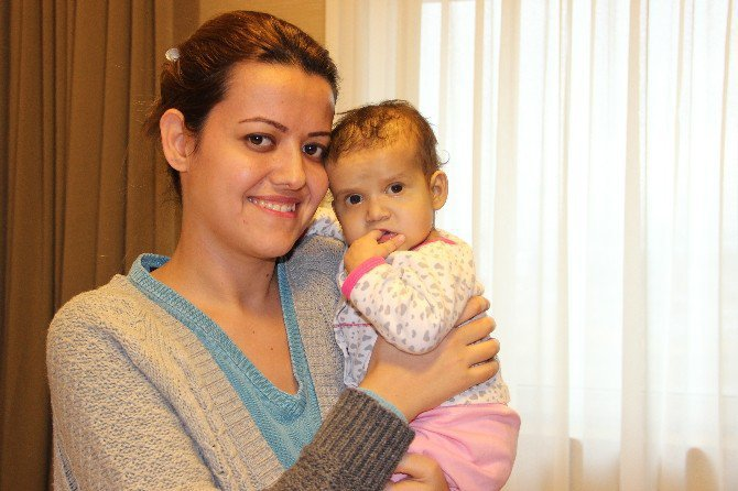 Gamze Tunalı kızı Bade'ye ikinci kez hayat verdi