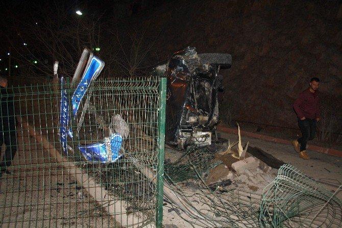 Yozgat'ta Ahmet Kalkan trafik kazasında yaralandı