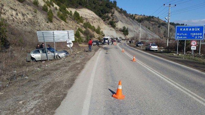 Karabük Yenice Karayolu'nda Trafik Kazası: 5 Yaralı