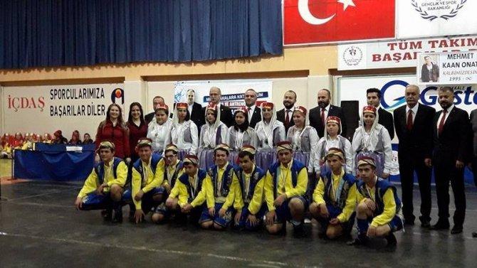 Halk Oyunları Ekibi Madalya İle Döndü