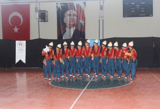 Kulüpler Arası Halk Oyunları Yarışması Düzenlendi