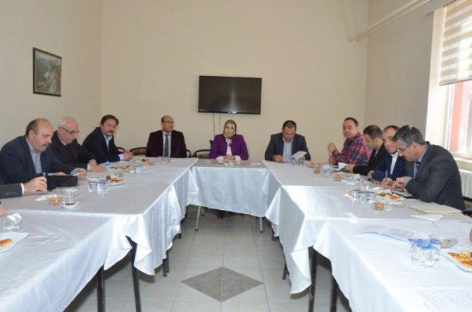 Halk Eğitim Müdürleri İstişare Toplantısı Gölpazarı'nda Yapıldı