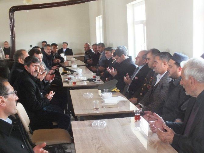 Kaymakam Kırlı'dan Şehit Ailesine Taziye Ziyareti